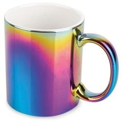 Taza Metalizado Multicolor 330ml