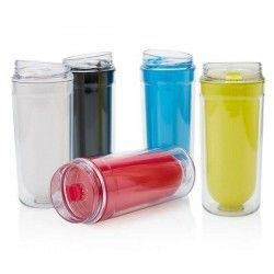 Vaso Doble Pared Sin BPA 400ml