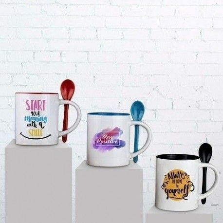 Taza Sublimación Spoon 300ml