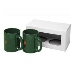Set de regalo de 2 tazas Ceramic 330ml