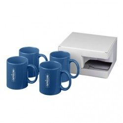 Set de regalo de 4 tazas Ceramic 330ml