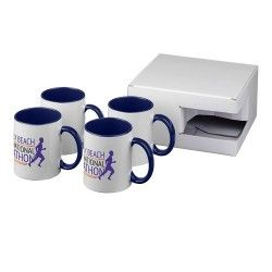 Set de regalo de 4 tazas de sublimación Ceramic 330ml