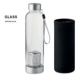 Botella Utah Tea Cristal Borosilicato 500ml
