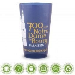 Vaso reutilizable y reciclable 330ml